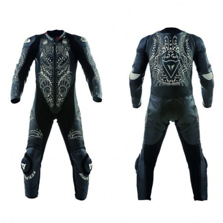 The riding suit from their new collection, Tattoo, is inspired by the art of