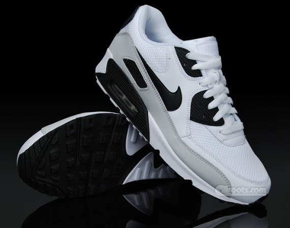 6cc7fe2d54 Nike Air Max 90 – White – Grey – Black | JP'S FRESH BREAD